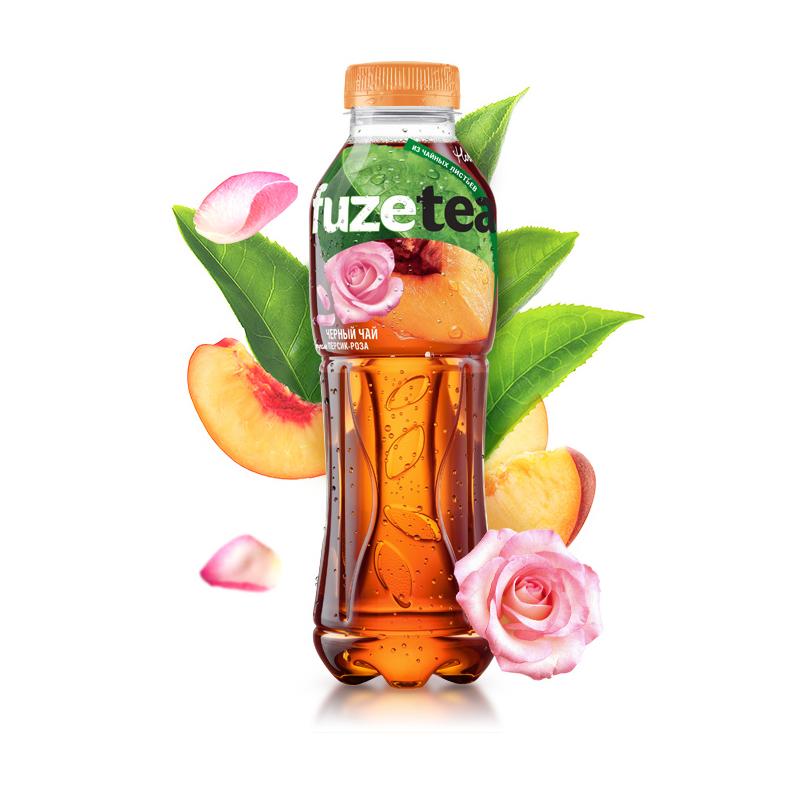 FUZE TEA 0.5L (Персик - роза)